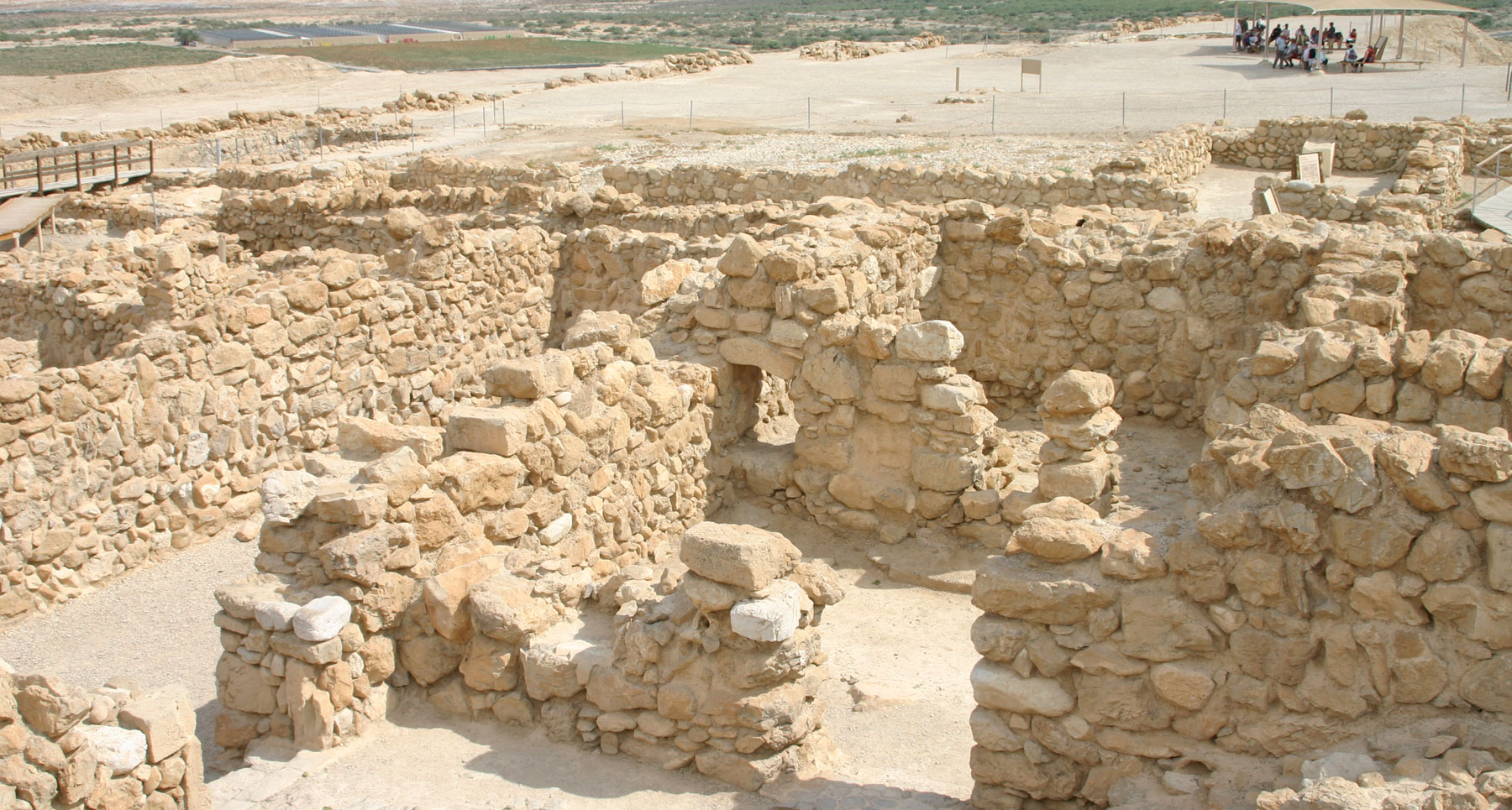 Qumran site: The Scriptorium